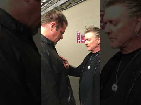 Johnjay And Rich - WATCH: Johnjay Gets Blessed By Rick Allen