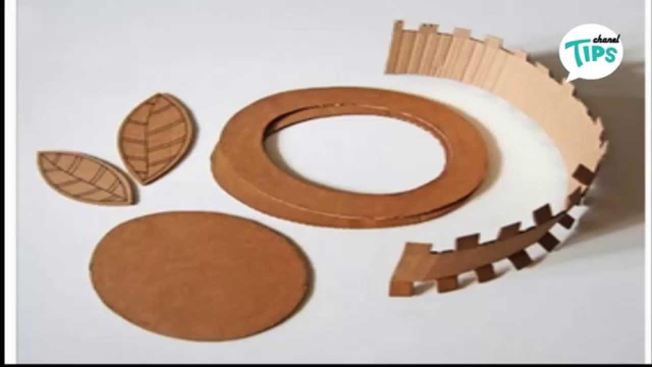 Membuat Topi Dari Kardus Bekas Make Cap From Old Cardboard