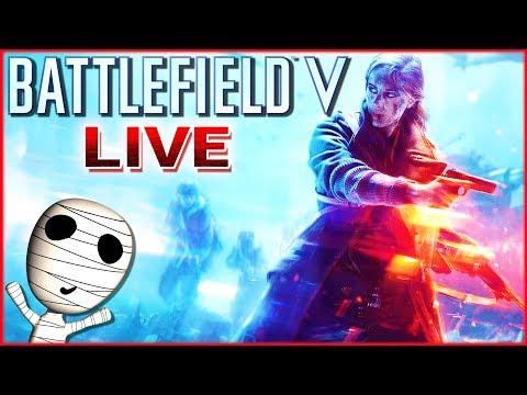 Fette Battlefield Action mit Slow Twicii & Bobby! 🔴 Battlefield V // PS4 Livestream thumbnail
