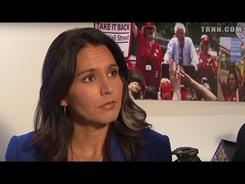 Rep. Tulsi Gabbard: I Remain Concerned about Clinton's Interventionist Foreign Policy