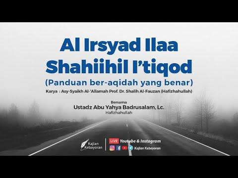 LIVE : Panduan Ber-aqidah Yang Benar #7 - Ustadz Badru Salam