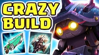 CAN I CARRY ANY HARDER?? THE FASTEST JUNGLER | NEW CRAZY BUILD (22 KILLS RAMMUS JUNGLE) - Nightblue3