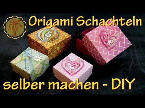 DIY: Origami Schachteln selber machen - mega einfach