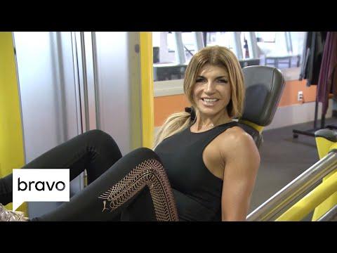RHONJ: Teresa Giudice's Intense Workout Routine | Bravo