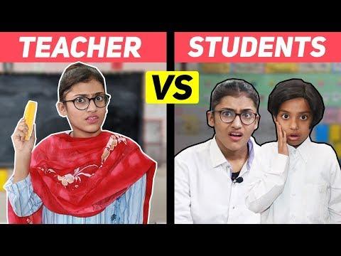Students Vs. Teacher | SAMREEN ALI