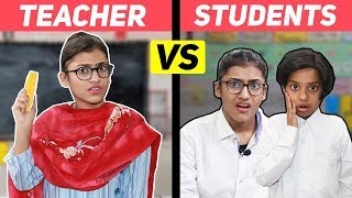 Students Vs. Teacher | SAMREEN ALI