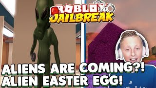 🔴Roblox Jailbreak, Alien are COMING! | ALIEN EASTER EGG! | |Hide and Seek