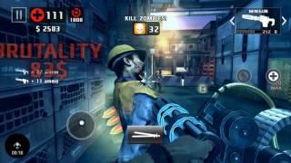 Dead Trigger 2- Lewis, Mac M1931, Minigun & TYPE 92 [MK10] Gameplay