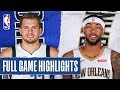 MAVERICKS at PELICANS | FULL GAME HIGHLIGHTS | December 3, 2019