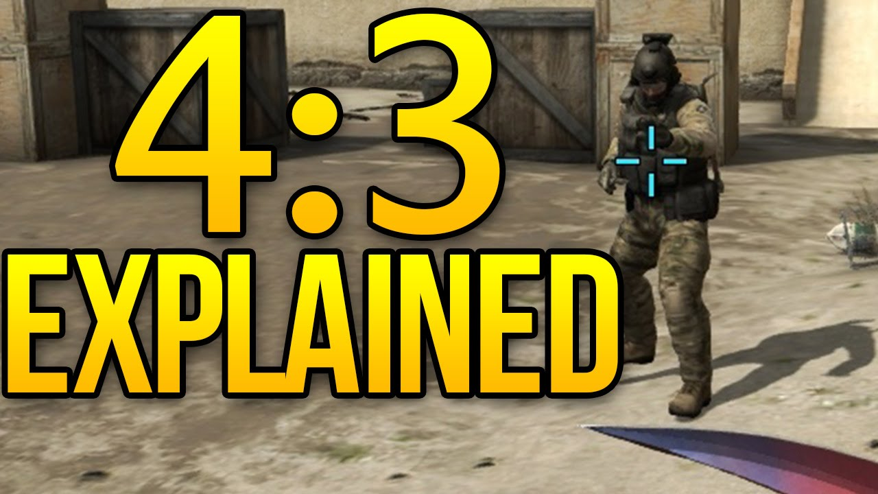CSGO 4:3 Resolution Explained (1280x960 Stretched)