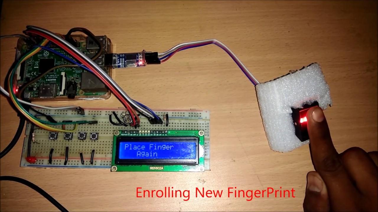Raspberry Pi with Fingerprint Module