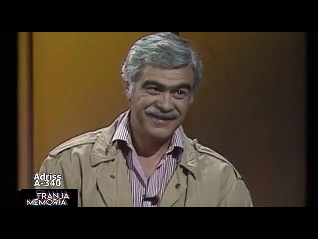 Germán Castro Caicedo habla con Bernardo Hoyos en Esta es su Vida 1991