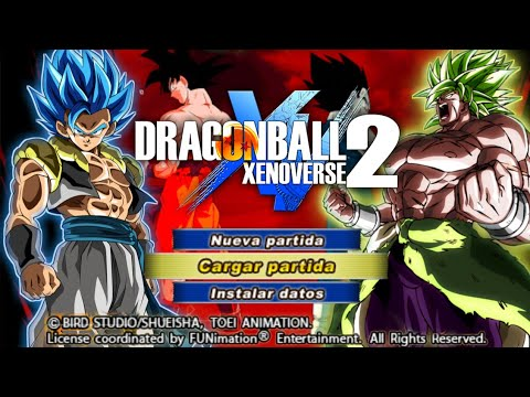 DOWNLOAD New Xenoverse 2 DBZ TTT MOD Full ISO + MENU With New Gogeta And Beerus - 동영상