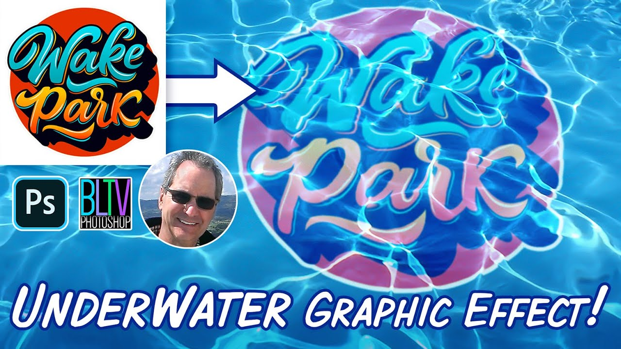 Photoshop: How to Create The Underwater Graphic Effect