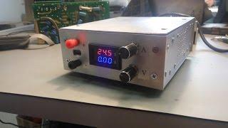 Лабораторный блок питания (ЛБП) 25V/10A своими руками!