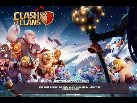 Clash of Clans Downloading Content Loop Glitch Fix