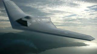 Американский беспилотный летательный аппарат разведчик RQ 170 Sentinel