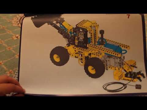 Хроники лего техник N6 Самоделка 42023 грузовик, сиденья 42056, 8459 + 8735