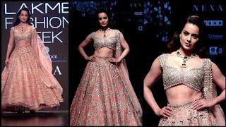Manikarnika On the Ramp LIVE | Kangana Ranaut | Lakme Fashion Week 2019 | FULL VIDEO