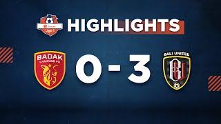 Download Video HIGHLIGHT Shopee Liga 1: PERSERU Badak Lampung VS Bali United FC MP3 3GP MP4