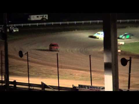 4 Stock feature Jackson County Speedway Fall Bash 10/19/14