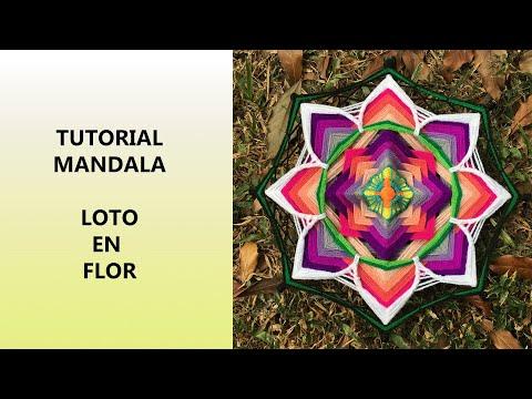Mandala: Loto en Flor