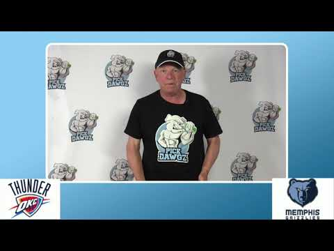 Memphis Grizzlies vs Oklahoma City Thunder 8/7/20 Free NBA Pick and Prediction NBA Betting Tips