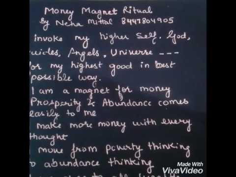 Money magnet ritual