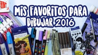 Mis Productos Favoritos de Dibujo 2016 🌟🎨 (English subtitles) | Diana Díaz thumbnail