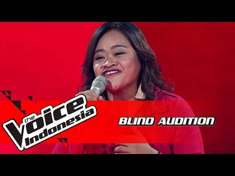 Rena - Put Your Records On  | Blind Auditions | The Voice Indonesia GTV 2018