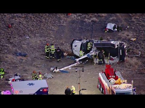 Driver Airlifted After Crash Involving Comcast Truck & Sedan