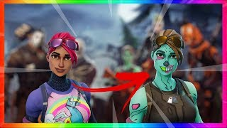 HAVE THE GHOUL TROOPER! Skin custom! Season 6 FORTNITE (Fluo Terror)