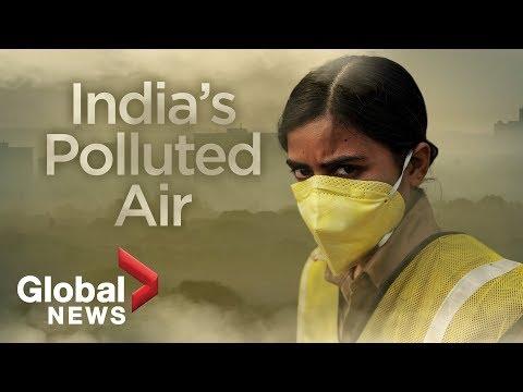 India pollution: Air quality reaches 'hazardous' levels in Delhi