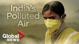 India pollution: Air quality reaches 'hazardous' levels in Delhi