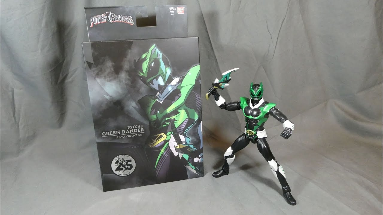 Power Rangers Lightning Collection In Space Psycho Green Ranger  **Exclusive**
