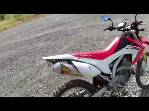 crf 250l top speed and cruising speed