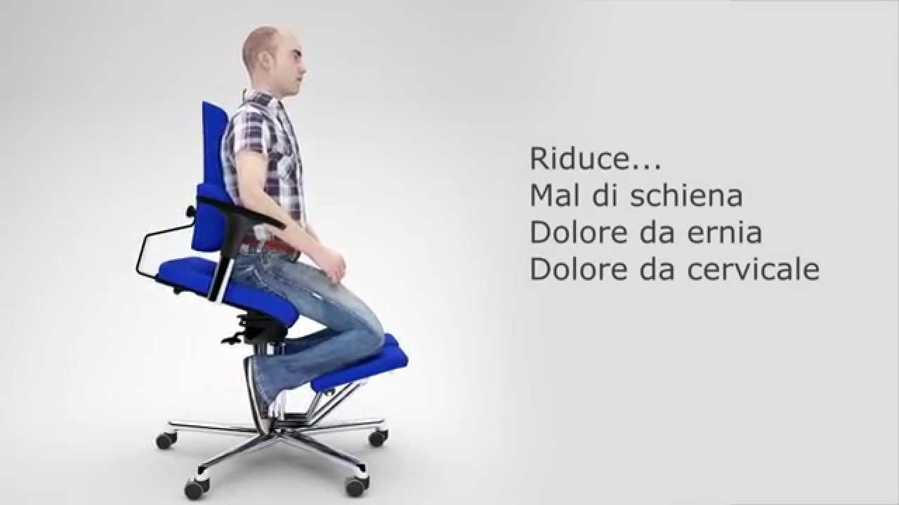 Sedia ergonomica da ufficio komfort chair youtube