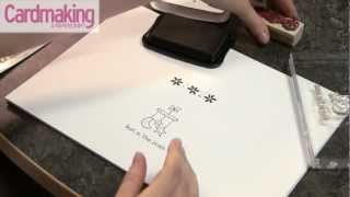 Cardmaking & Papercraft - How to: get started with stamping