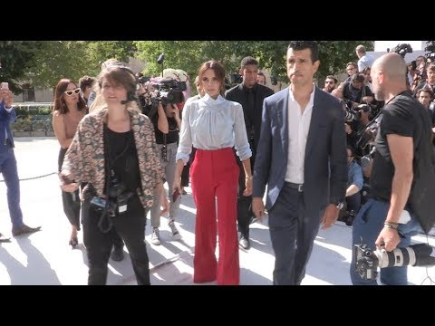 Victoria Beckham and Brooklyn Beckham at the Dior Homme Menswear SS 2019  Fashion Show in Paris da60d2c3760