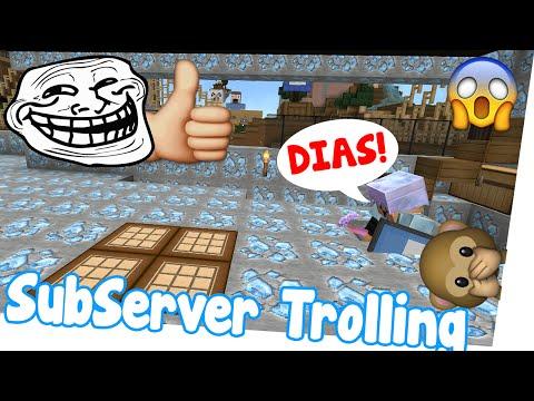WIEDER GETROLLT! Haus aus DIAMANTEN! - Minecraft SubServer Troll | Earliboy
