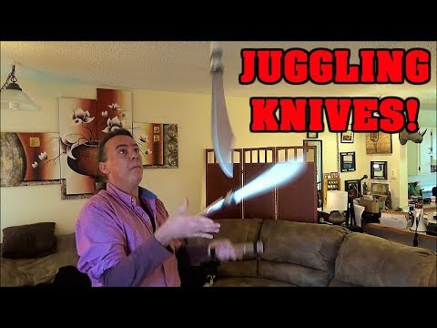 Juggling Knives & Giving Away Silver! | Plus Viewer Comments! | IndoorSmokers
