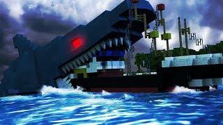 Minecraft | BUILD TO SURVIVE SHARKS - Shark Attack Swarm! (Shark Challenge)