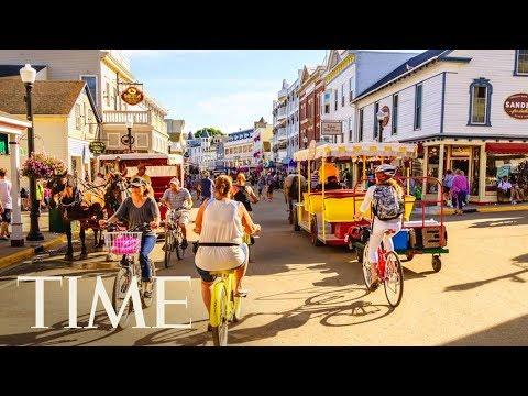 A Motorcade On Mackinac Island? Some Call VP Mike Pence's Vehicle Ban 'Disrespectful' | TIME