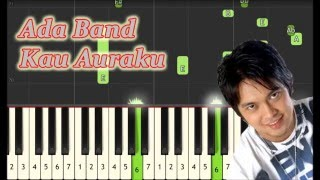 Ada Band - Kau Auraku - Piano Tutorial