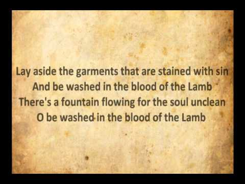 Are You Washed In The Blood with Lyrics