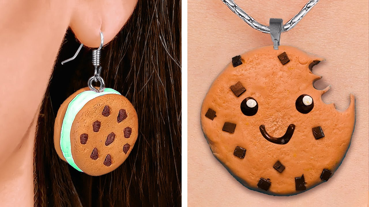 Cute Mini Crafts With Polymer Clay You Can Make Yourself || DIY Jewelry And Accessories