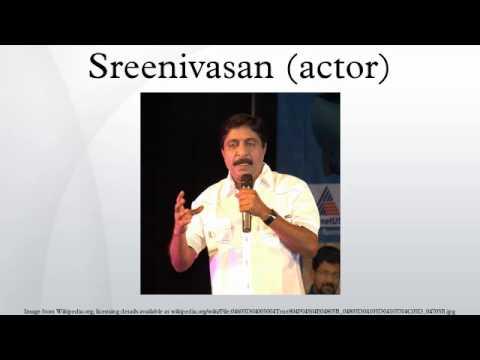 Sreenivasan (actor)