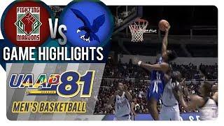 UAAP 81 MB: UP vs. ADMU | Game Highlights | September 12, 2018