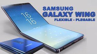 PRIMER SMARTPHONE FLEXIBLE Y PLEGABLE - SAMSUNG GALAXY WING