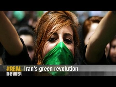 Pepe Escobar: Iran's green revolution